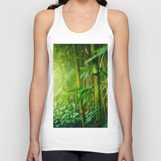 Bamboo Jungle Unisex Tank Top