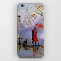 romantic iPhone & iPod Skins featuring Romantic by OLHADARCHUK
