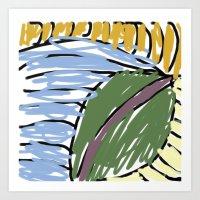 olivia's art 1 Art Print