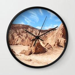 VALLE DE LA MUERTE III Wall Clock