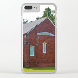 Gold Onion Dome Church Clear iPhone Case