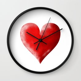 I Heart Wall Clock