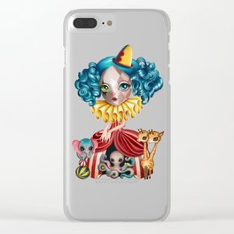 Penelope's Imaginarium Clear iPhone Case