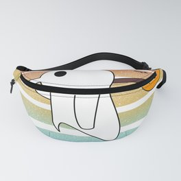 Noot Noot Pingboo Vintage A Penguin Dressed As A Ghost Halloween Love Fanny Pack