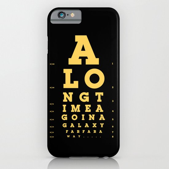 Jed Eye Chart iPhone & iPod Case