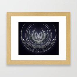 believe in dreams Framed Art Print