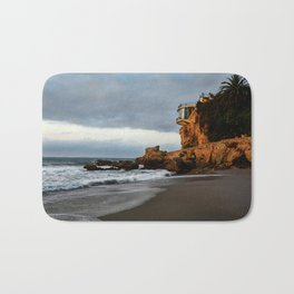 The Lookout over the Beach Bath Mat