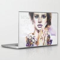 lana Laptop & iPad Skins featuring Lana by Kim Morrow