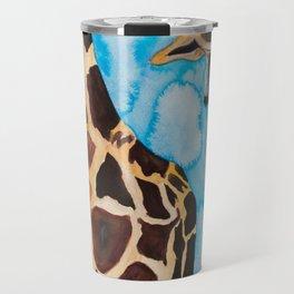 friendly giraffe Travel Mug