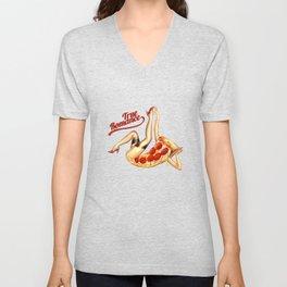 Hot Pizza! Unisex V-Neck