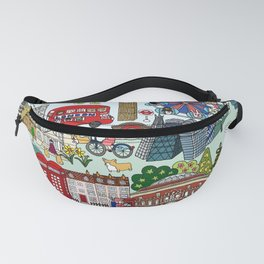 The Queen's London Day Out Fanny Pack