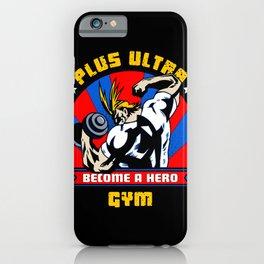 Plus Ultra Gym iPhone Case