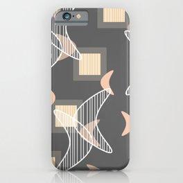 Atomic Era Boomerangs iPhone Case