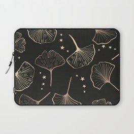 Hand Drawn Ginkgo Biloba Pattern Laptop Sleeve