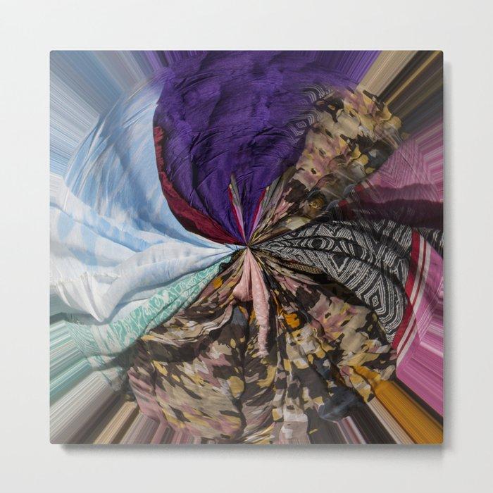 Wheel of Colors Metal Print
