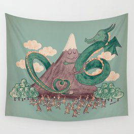 The Not-So-Lonely Mountain Wall Tapestry