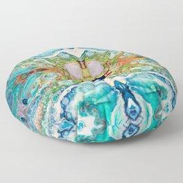 Fragmented 82 Floor Pillow