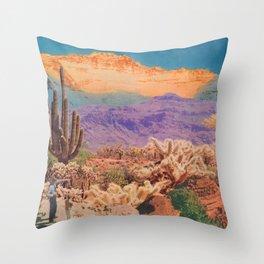 Mountains of Shifting Sand Throw Pillow