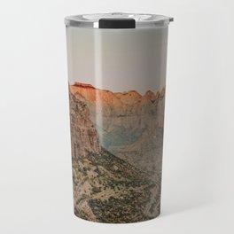 Zion National Park V / Utah Desert Travel Mug