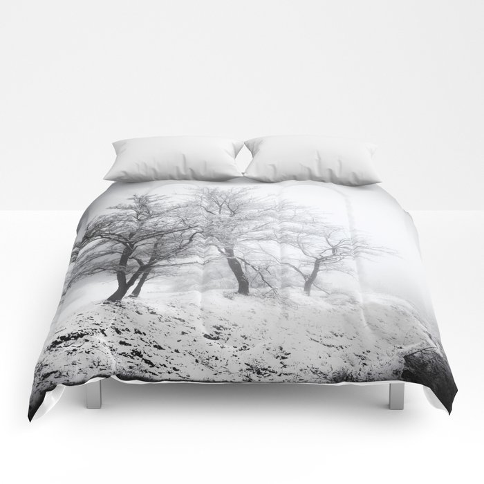 """""""Into the woods"""". Mistery forest. Comforters"""