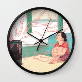 Alexa, Are You Safe for My Family? Wall Clock
