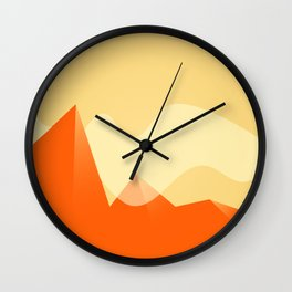 Simple Valley Wall Clock