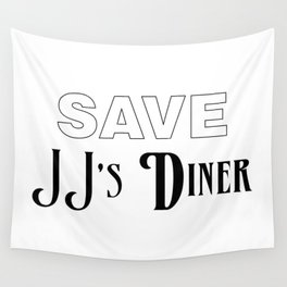 Save JJ's Diner Wall Tapestry