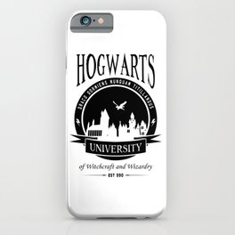 Hogwart University iPhone Case