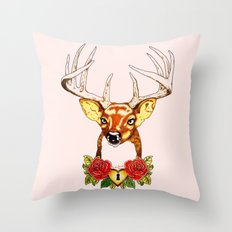 Oh deer. Throw Pillow
