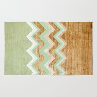 wood Area & Throw Rugs featuring Wood by naidl