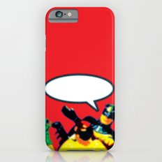 Robin and Bat Man in Action Slim Case iPhone 6s