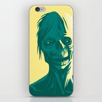zombie iPhone & iPod Skins featuring Zombie by Jasn