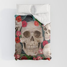 tropical scary  Comforters