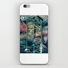 Game of Animals iPhone Skin
