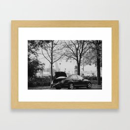 Steel & Streets Framed Art Print