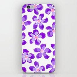 Posey Power - Purple Multi iPhone Skin