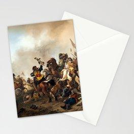 Philips Wouwerman Battle Scene Stationery Cards
