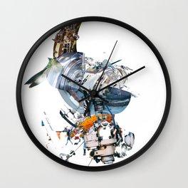 BQ-45 Spacecraft Wall Clock