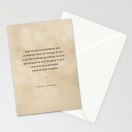 Kahlil Gibran Quote 04 - Typewriter quote on Old Paper - Literary Poster - Book Lover Gifts Stationery Cards