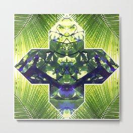Palm Prism Original Artwork by Rachael Rice Metal Print