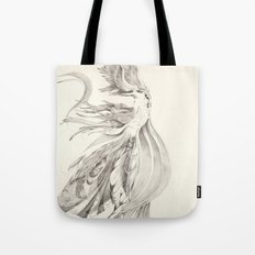 Fin and Feather Gown Tote Bag