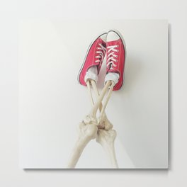 Every Living Person In Chucks Metal Print