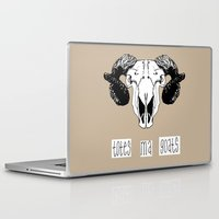 totes Laptop & iPad Skins featuring Totes Ma Goats by Liffy Designs