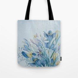 Lovely Spring Crocus Tote Bag