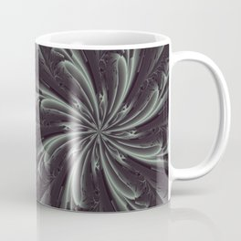 Out of the Darkness Fractal Bloom Coffee Mug