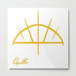 Apollo Metal Print