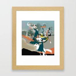 San Cristobal Framed Art Print