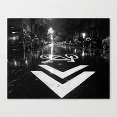 The Right Way Canvas Print