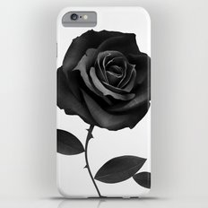 Fabric Rose Slim Case iPhone 6s Plus