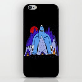 Snowman Winter Story iPhone Skin